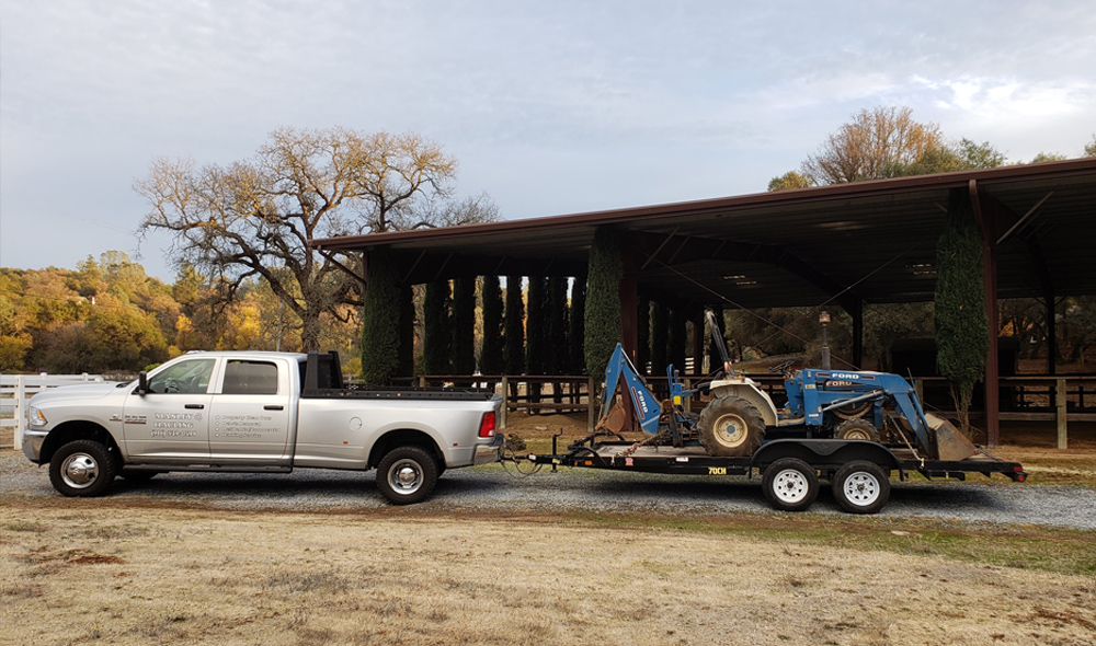 Heavy Equipment Removal Services - Manley Hauling Services in greater El Dorado, Placer and Sacramento County