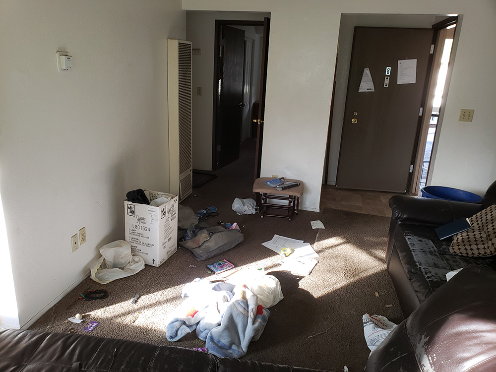 Foreclosure Cleanouts for Apartment Complex's
